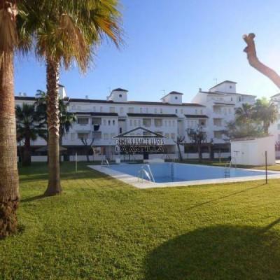 2706 Bajo con jardín playa de la antilla La Antilla