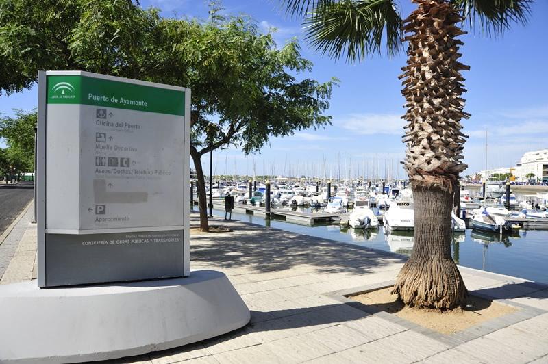 La Junta licita por 350.000 euros la mejora del entorno del puerto de Ayamonte